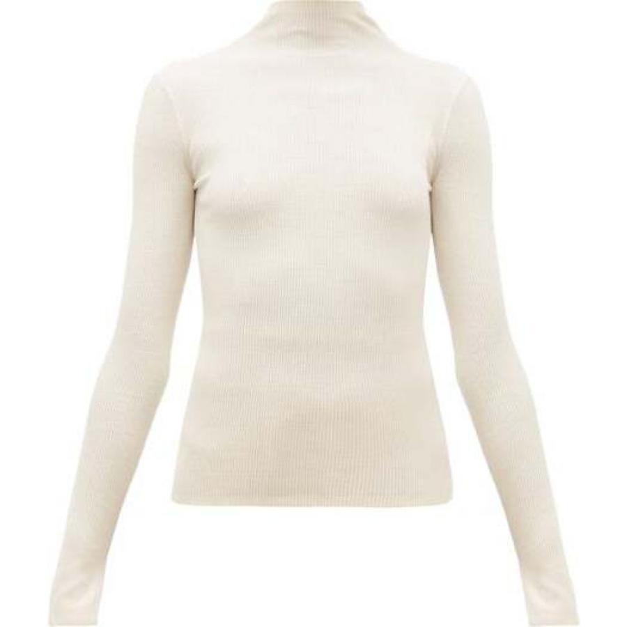 出産祝い マックスマーラ S Max Mara レディース ニット・セーター トップス Dindy sweater Ivory, kabeコレ ab26f2d7