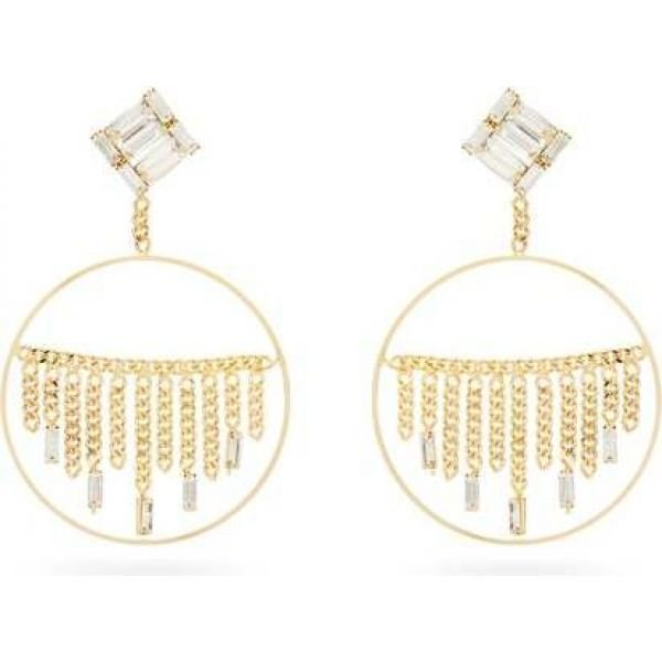 本店は ロザンティカ Rosantica レディース Osiride イヤリング・ピアス ジュエリー・アクセサリー レディース ロザンティカ Osiride crystal drop-hoop earrings Gold, ソーコショップ:2ea573a3 --- airmodconsu.dominiotemporario.com