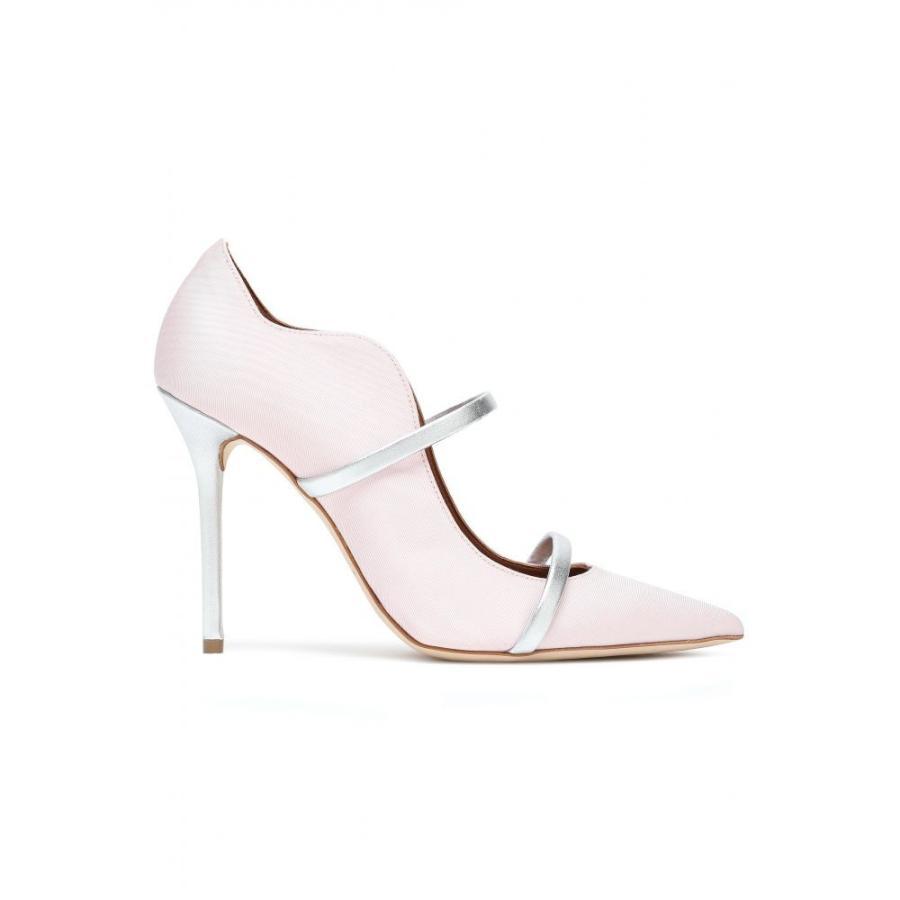 全てのアイテム マローンスリアーズ pink MALONE SOULIERS レディース Pastel パンプス シューズ シューズ・靴・靴 Maureen metallic leather-trimmed moire pumps Pastel pink, 手仕上げ印鑑 川島:53a6bc19 --- chizeng.com