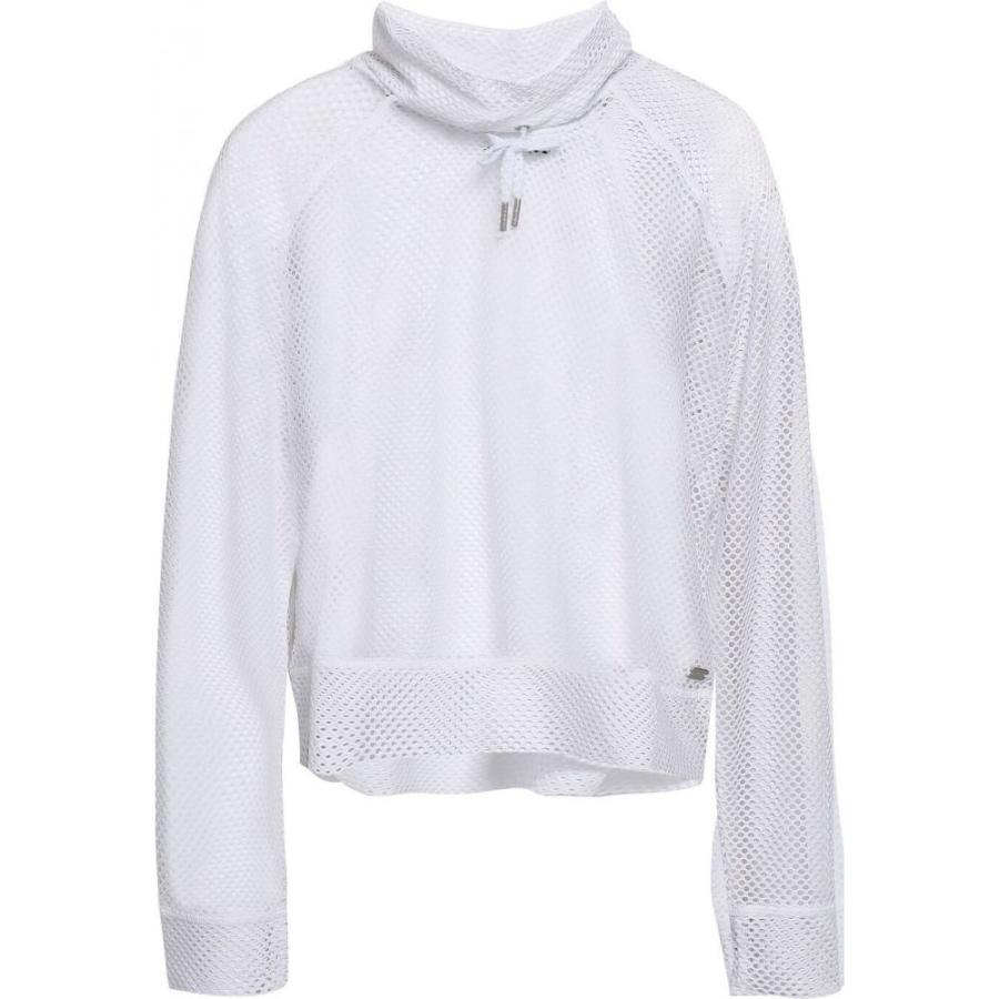 世界的に ダナ キャラン ニューヨーク DKNY レディース トップス Stretch-mesh top White, レンタル貸衣装なな 639b69a1