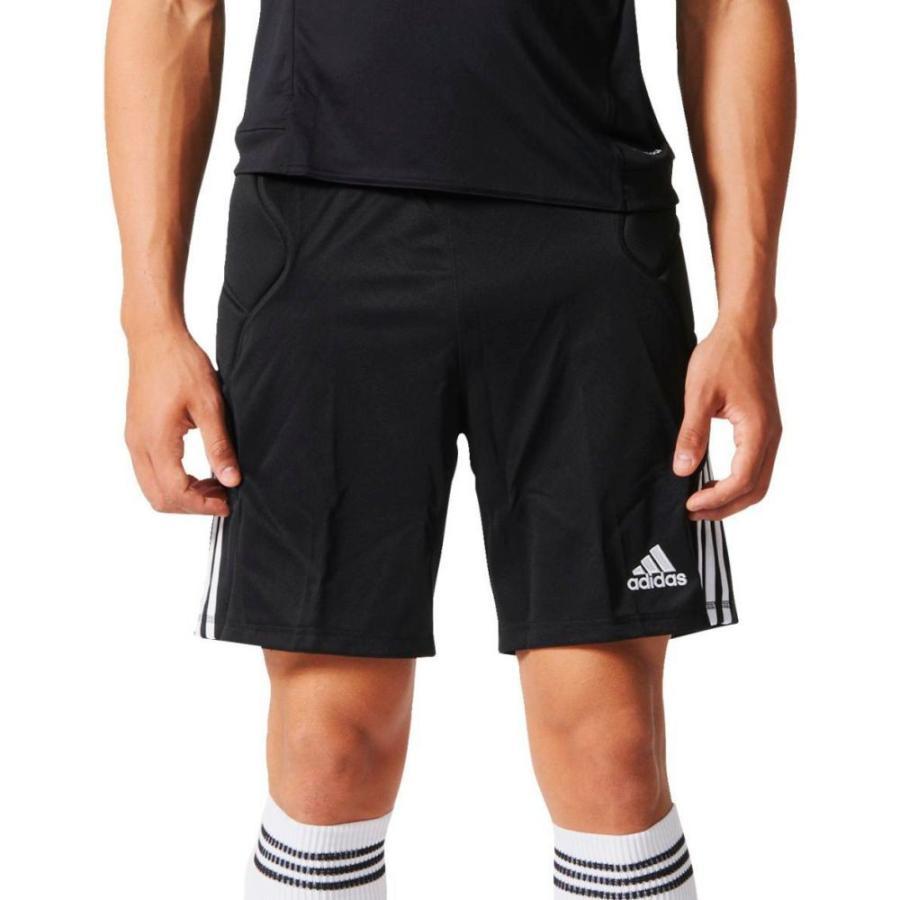 アディダス adidas メンズ サッカー ショートパンツ ボトムス・パンツ tierro goalkeeper soccer shorts 黒