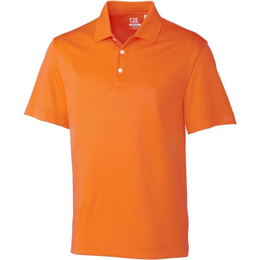 カッター&バック Cutter & Buck メンズ ゴルフ ポロシャツ トップス cb drytec willows golf polo オレンジ Burst