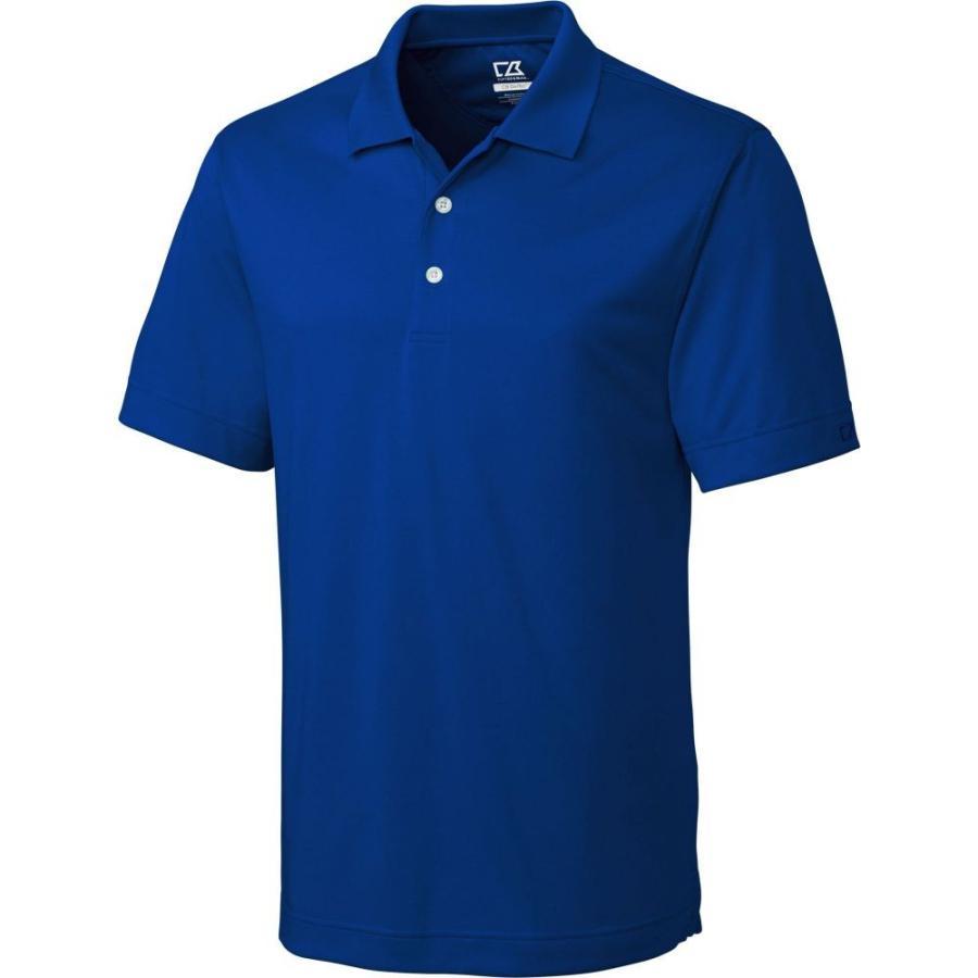 カッター&バック Cutter & Buck メンズ ゴルフ ポロシャツ トップス cb drytec willows golf polo Tour 青