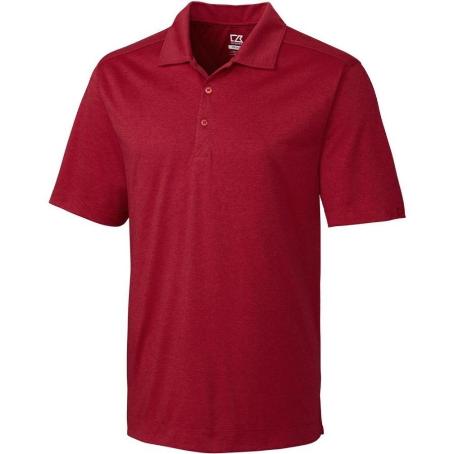 カッター&バック Cutter & Buck メンズ ゴルフ 大きいサイズ ポロシャツ トップス drytec chelan golf polo - big & tall Cardinal Red Heather