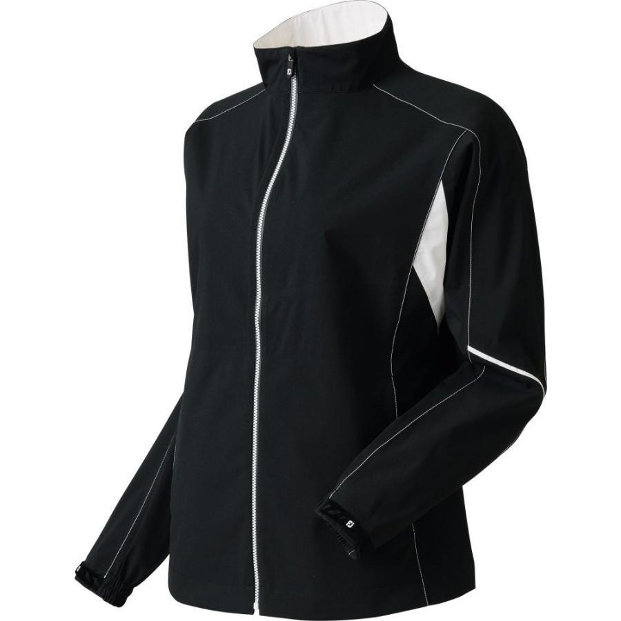 フットジョイ FootJoy レディース ゴルフ レインジャケット アウター hydrolite golf rain jacket 黒