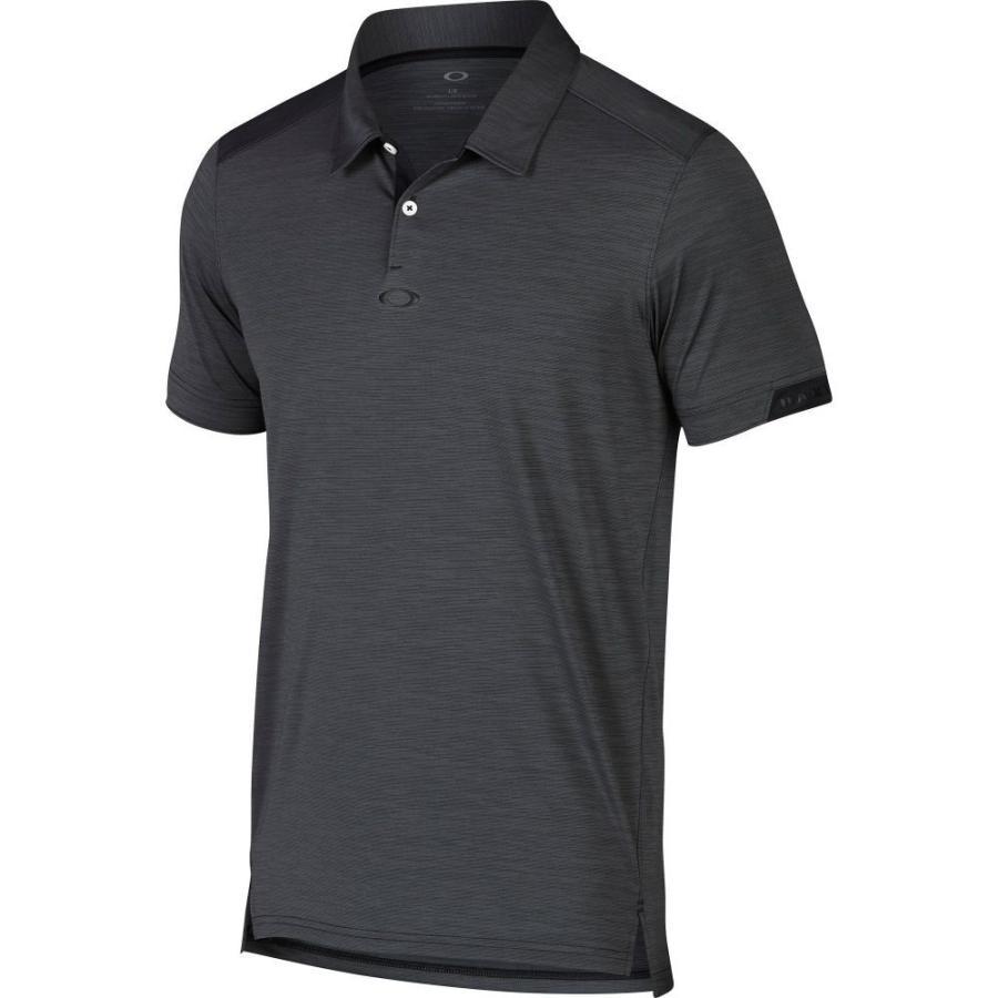 オークリー Oakley メンズ ゴルフ ポロシャツ トップス gravity golf polo 黒out