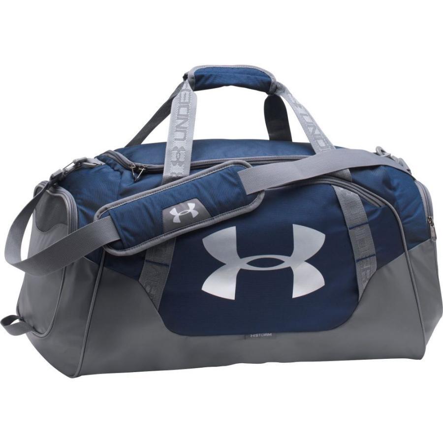 アンダーアーマー Under Armour ユニセックス ボストンバッグ・ダッフルバッグ バッグ undeniable 3.0 medium duffle bag Midnight Navy/Graph/Silv