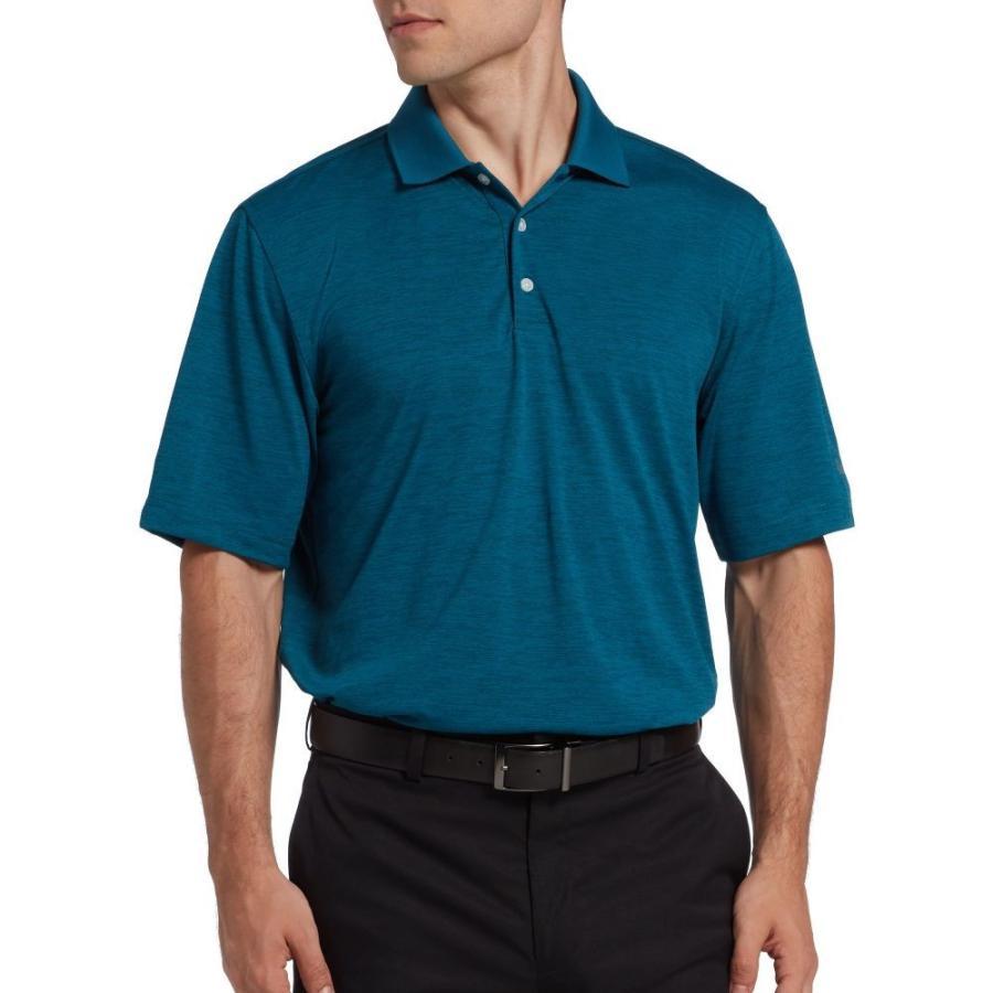 ウォルターヘーゲン Walter Hagen メンズ トップス ゴルフ Core Space Dye Golf Polo Teal