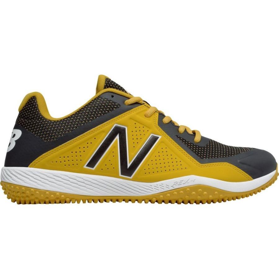 ニューバランス New Balance メンズ 野球 スパイク シューズ・靴 4040 v4 turf baseball cleats 黄/黒
