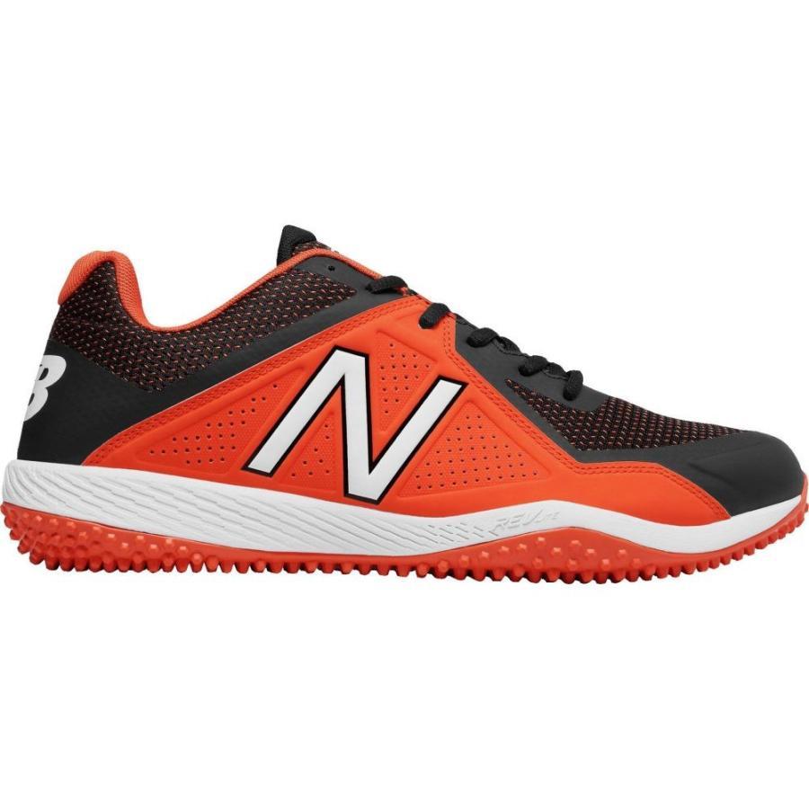 ニューバランス New Balance メンズ 野球 スパイク シューズ・靴 4040 v4 turf baseball cleats オレンジ/黒