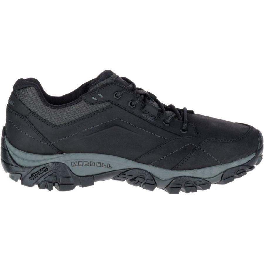 メレル Merrell メンズ ハイキング・登山 シューズ・靴 moab adventure lace hiking shoes Black