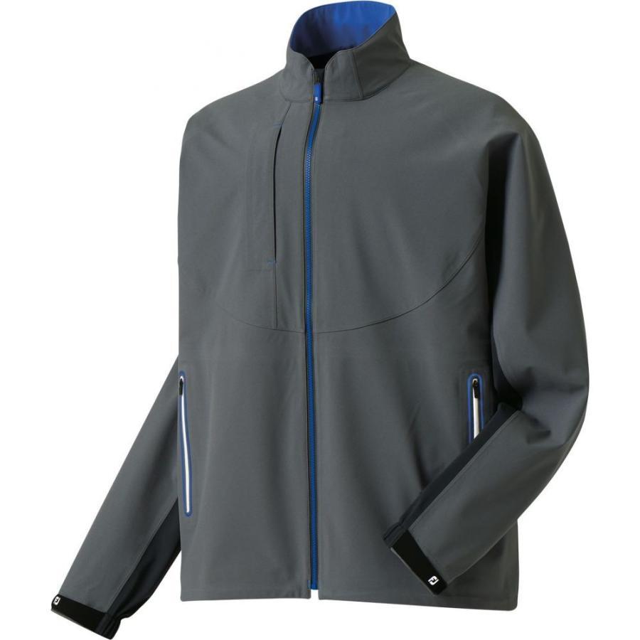 フットジョイ FootJoy メンズ ゴルフ レインジャケット アウター dryjoys tour lts rain golf jacket Charcoal/Royal