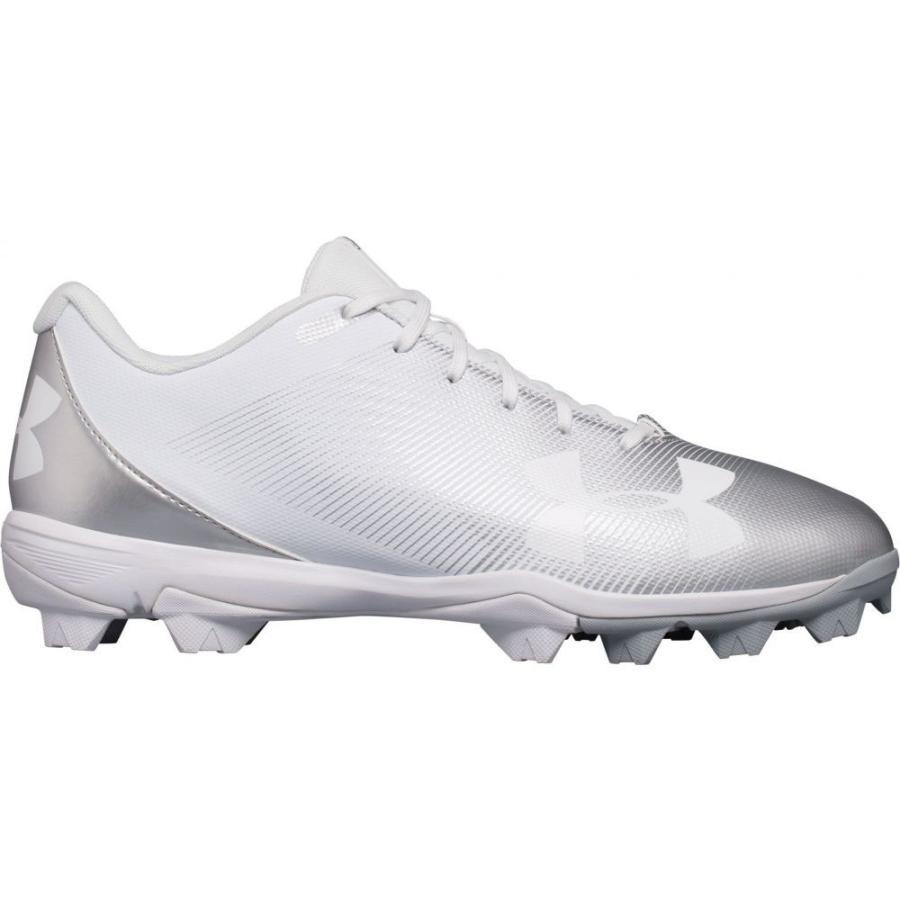アンダーアーマー Under Armour メンズ 野球 スパイク シューズ・靴 leadoff rm baseball cleats 白い/白い