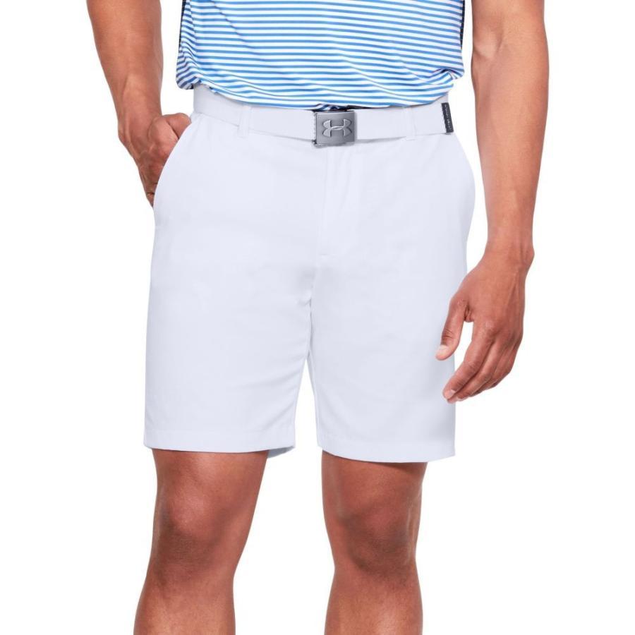 アンダーアーマー Under Armour メンズ ゴルフ ショートパンツ ボトムス・パンツ showdown golf shorts 白い