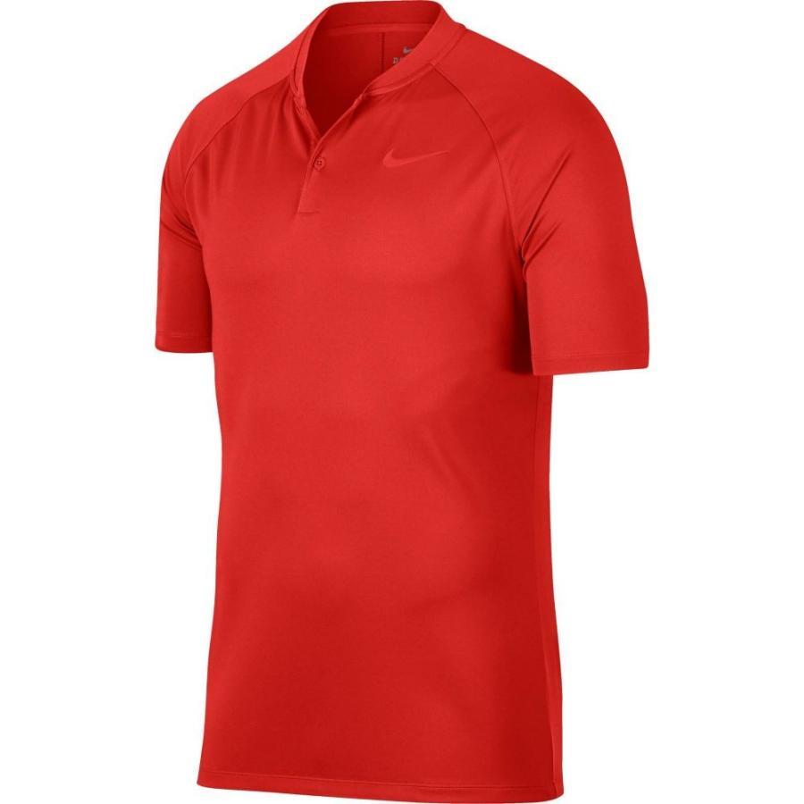 ナイキ Nike メンズ トップス ゴルフ Dry Momentum Blade Collar Golf Polo Habanero 赤