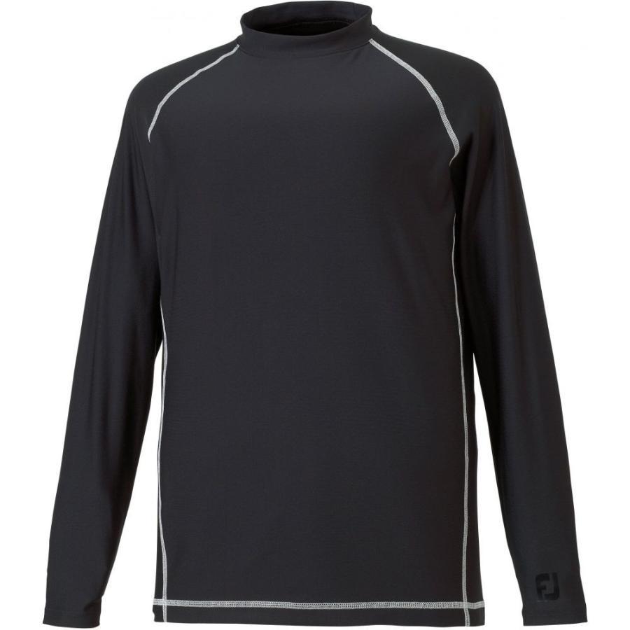 フットジョイ FootJoy メンズ ゴルフ ベースレイヤー トップス performance golf baselayer 黒