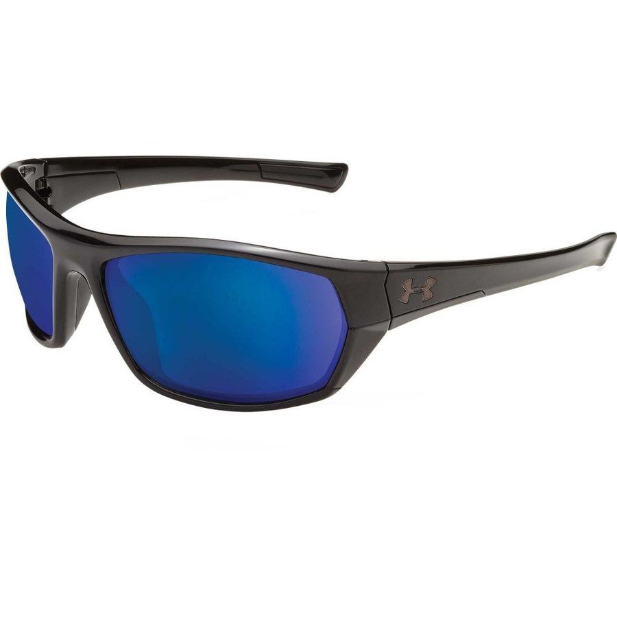 アンダーアーマー Under Armour メンズ スポーツサングラス powerbrake fishing tuned offshore polarized sunglasses Gloss 黒/Offshore Polar Lens
