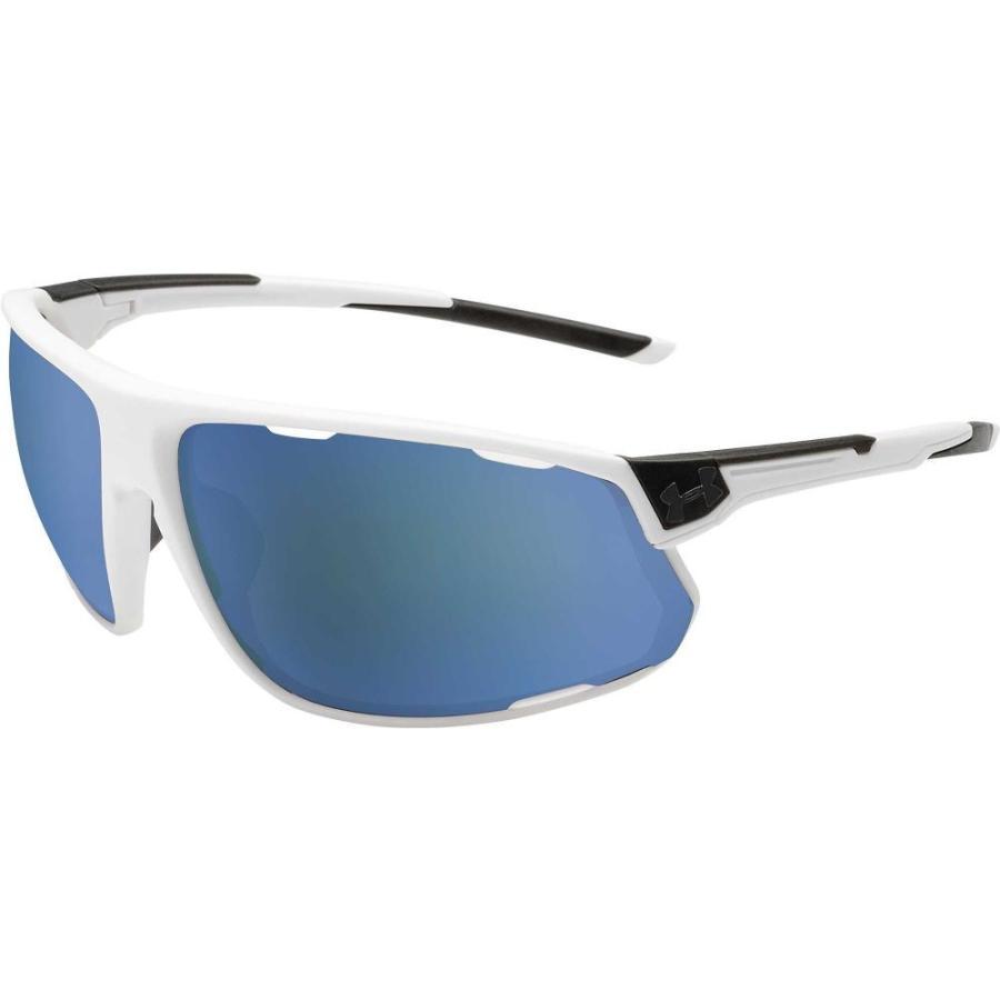アンダーアーマー Under Armour メンズ スポーツサングラス strive tuned baseball sunglasses Satin 白い/Baseball Lens