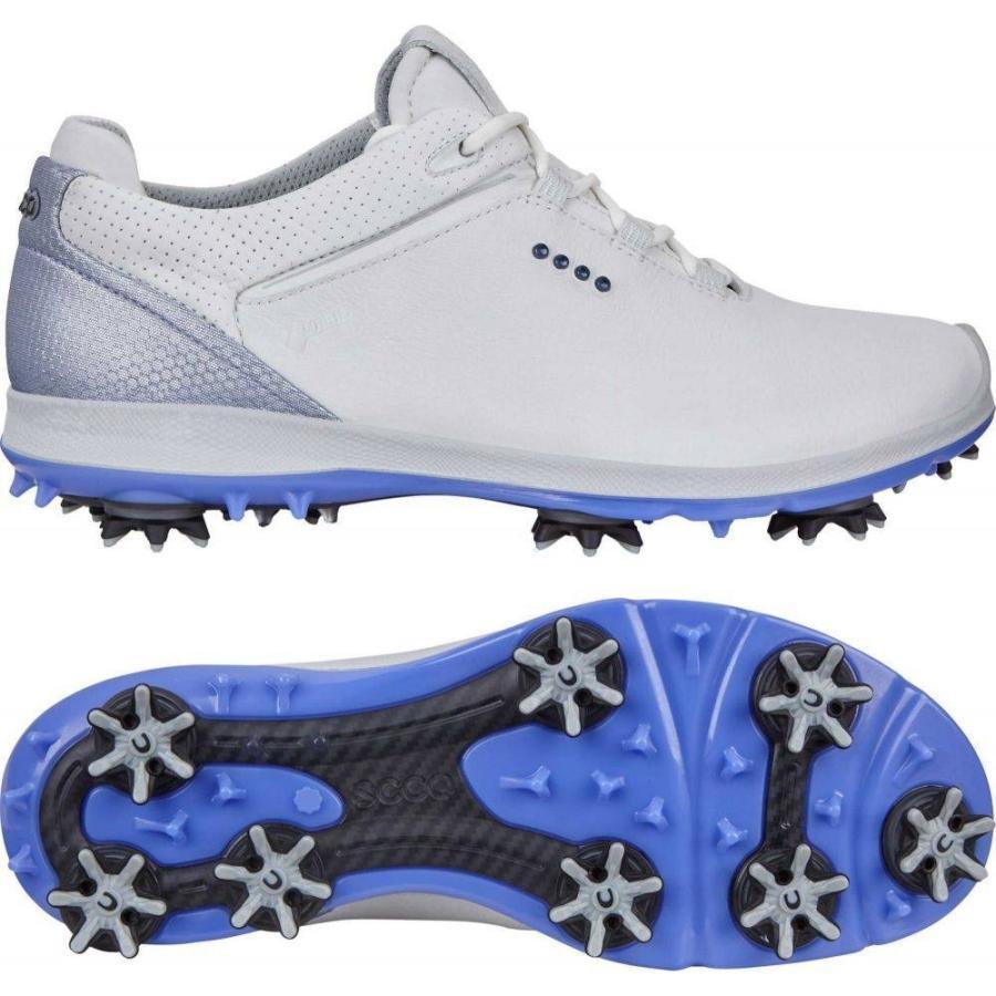 エコー ECCO レディース ゴルフ シューズ・靴 biom g 2 golf shoes 白い