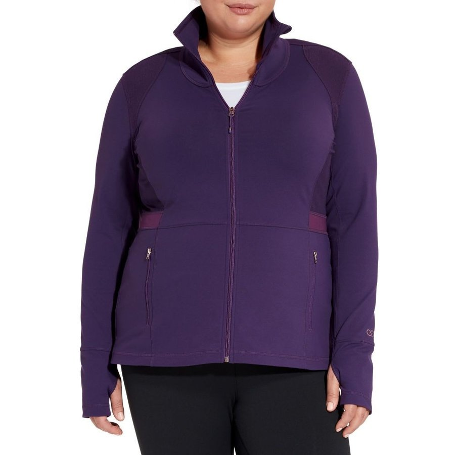 キャリー アンダーウッド CALIA by Carrie Underwood レディース フィットネス・トレーニング 大きいサイズ ジャケット plus size core fitness jacket