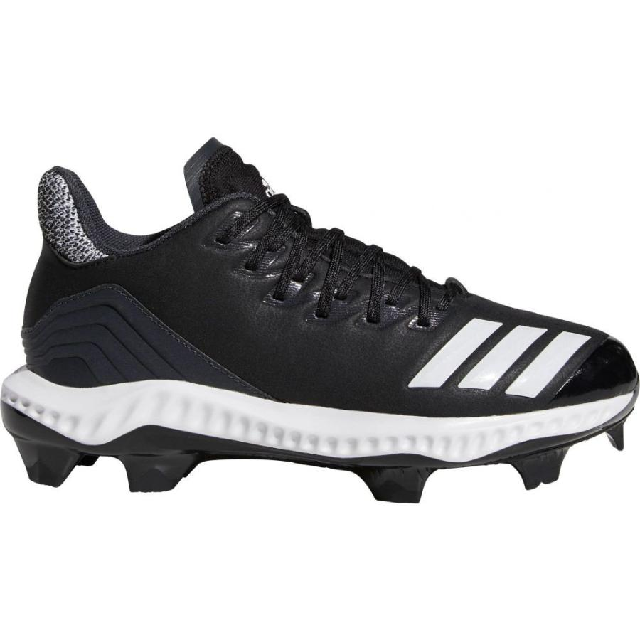 アディダス adidas レディース 野球 スパイク シューズ・靴 icon bounce softball cleats 黒/白い