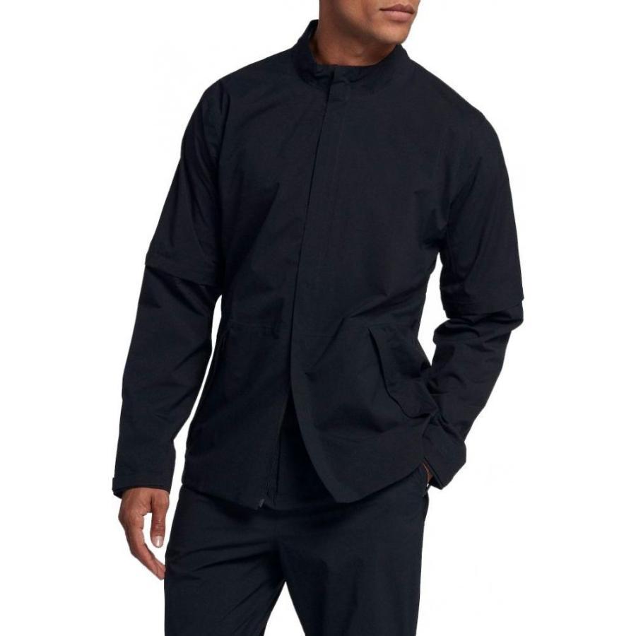 ナイキ Nike メンズ ゴルフ レインジャケット アウター hypershield golf rain jacket 黒