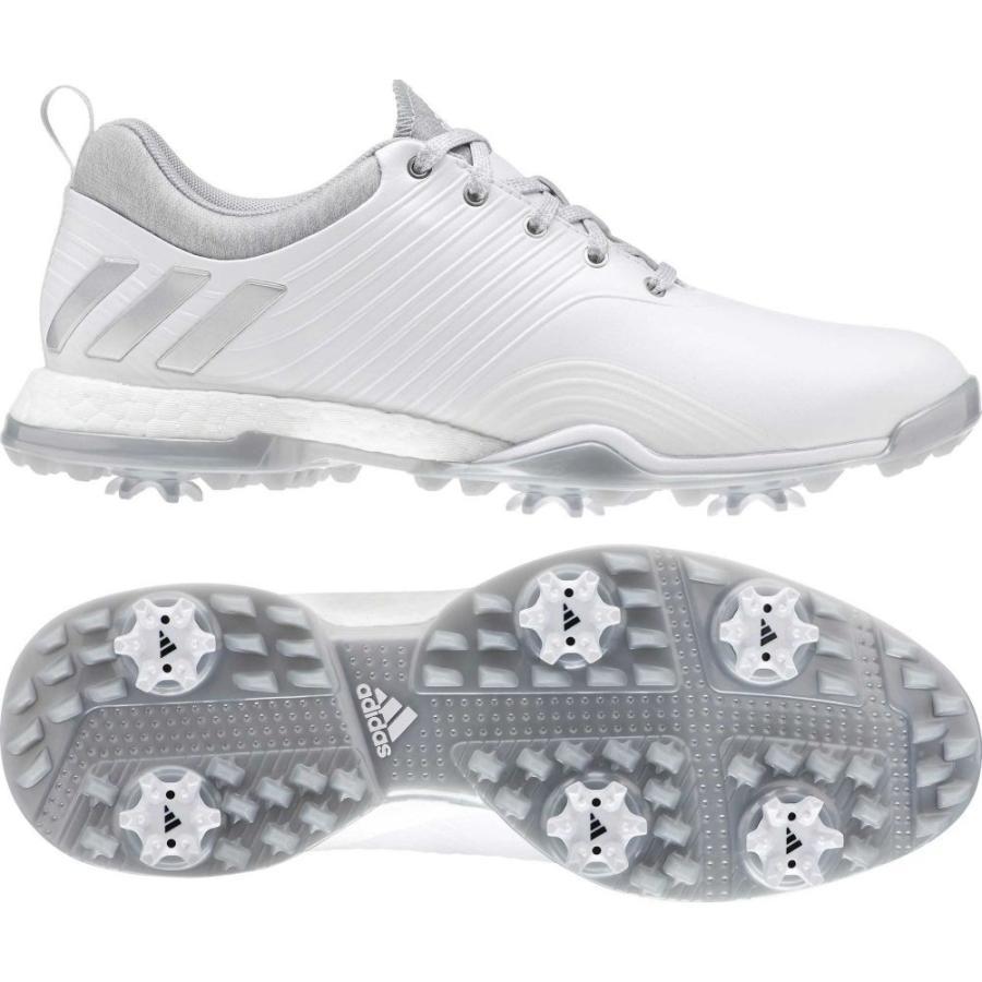 アディダス adidas レディース ゴルフ シューズ・靴 adipower 4orged golf shoes 白い/銀