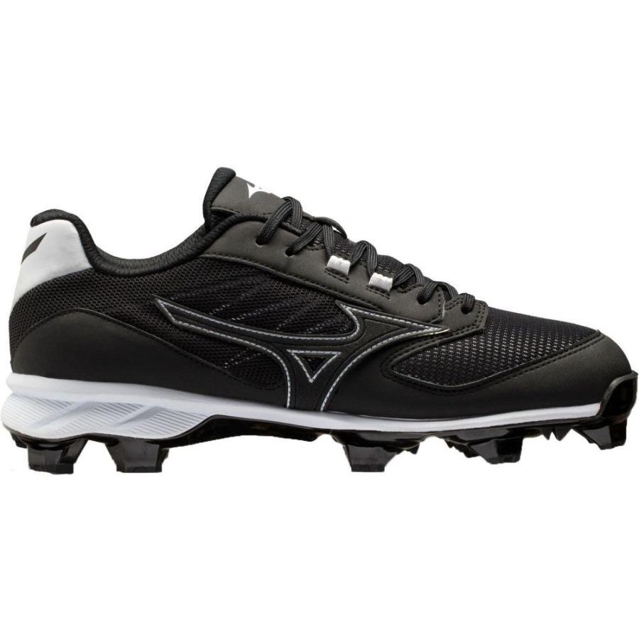 ミズノ Mizuno メンズ 野球 スパイク シューズ・靴 dominant ic tpu baseball cleats 黒/白い