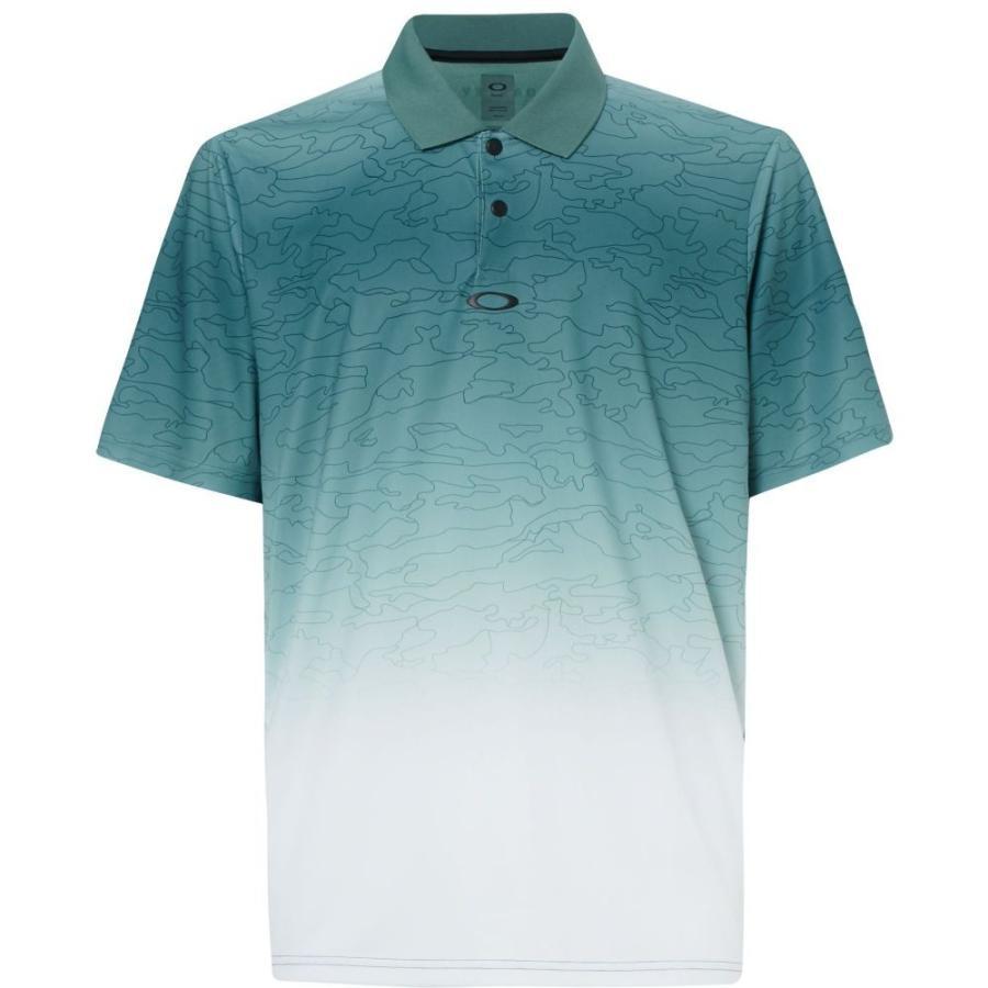 オークリー Oakley メンズ ゴルフ ポロシャツ トップス sublimated camo golf polo Ore