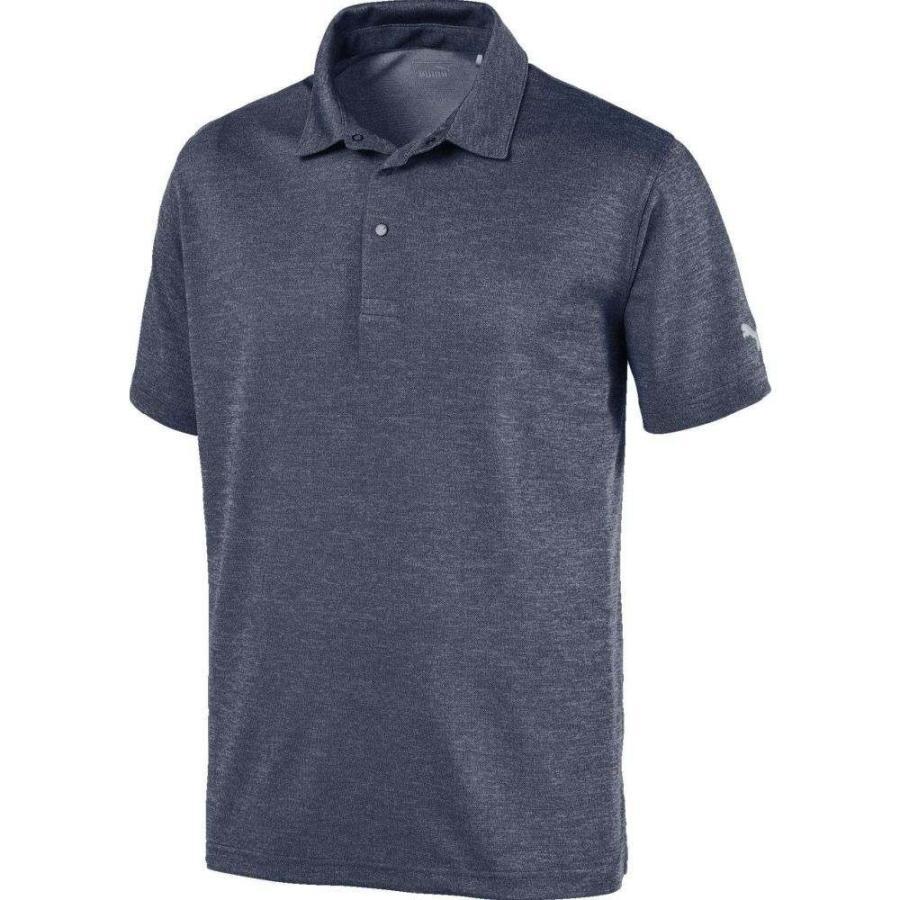 プーマ PUMA メンズ ゴルフ ポロシャツ トップス grill to 緑 golf polo Quarry Heather