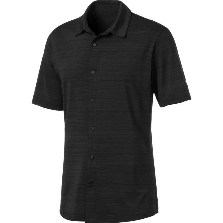プーマ PUMA メンズ ゴルフ トップス breezer golf shirt Puma 黒