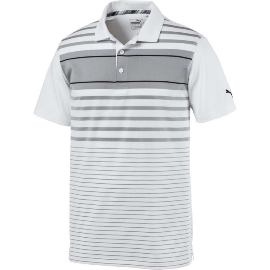 プーマ PUMA メンズ ゴルフ ポロシャツ トップス spotlight golf polo Quarry/Puma 黒