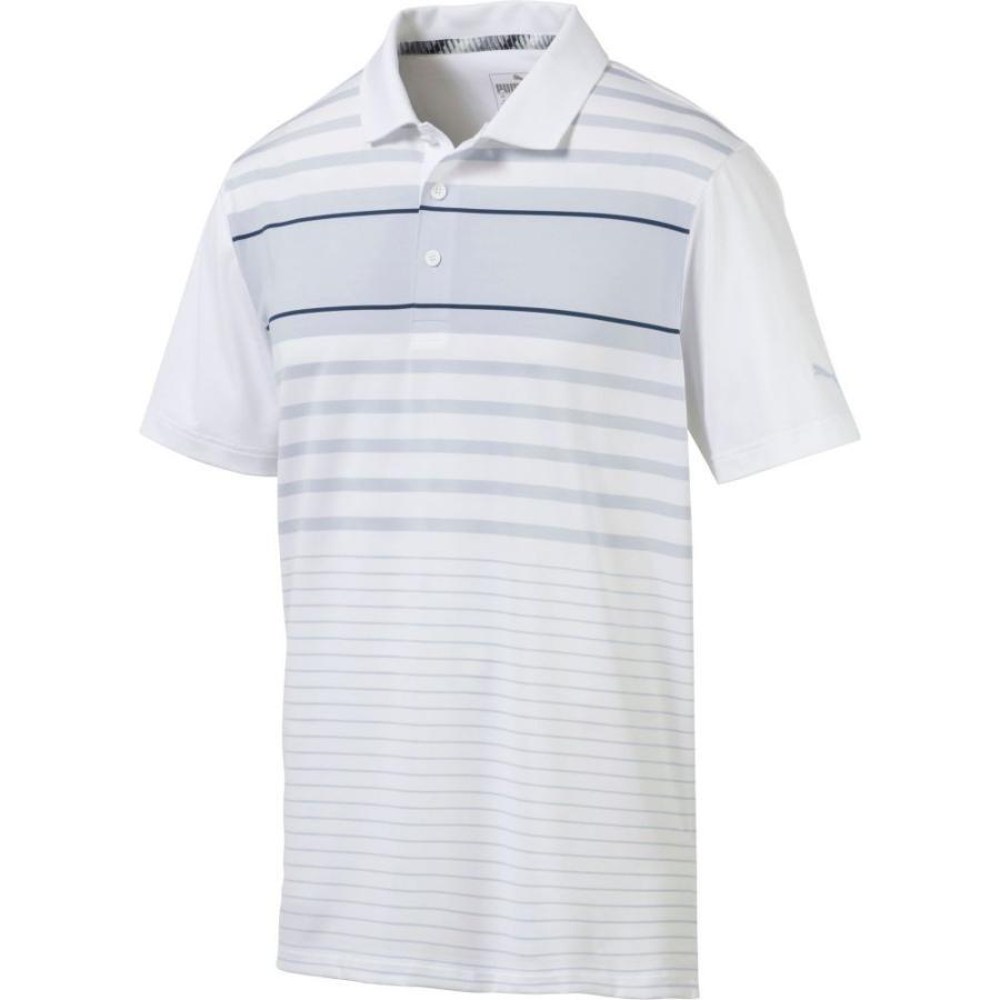プーマ PUMA メンズ ゴルフ ポロシャツ トップス spotlight golf polo Gibraltar Sea Heather