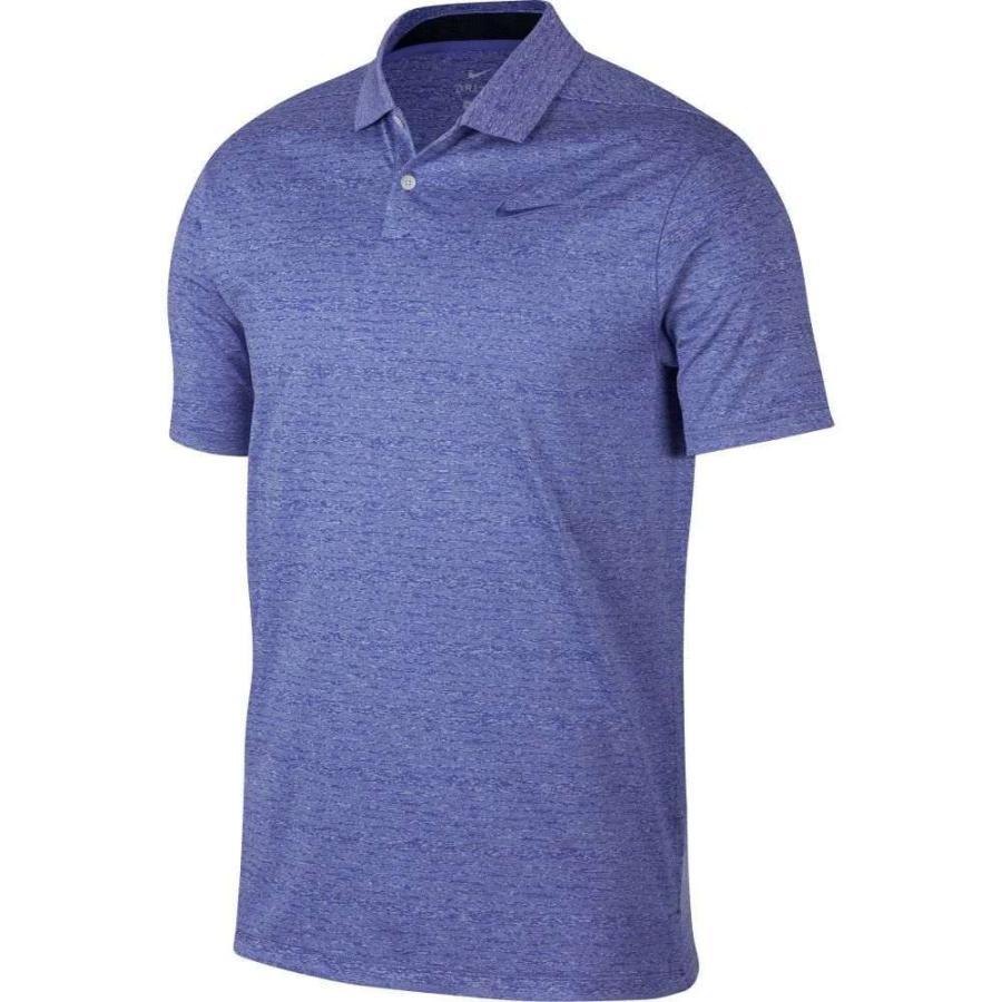 ナイキ Nike メンズ ゴルフ ポロシャツ トップス vapor heather golf polo Rush Violet