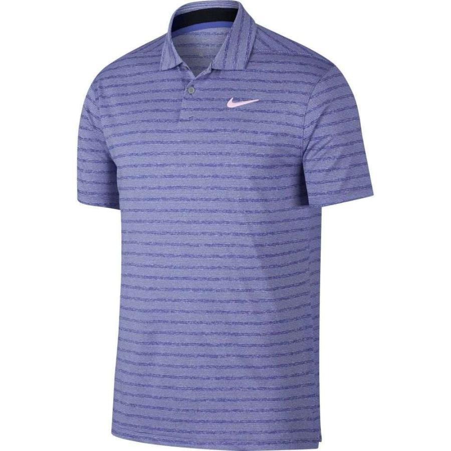 ナイキ Nike メンズ ゴルフ ポロシャツ トップス vapor stripe golf polo Rush Violet