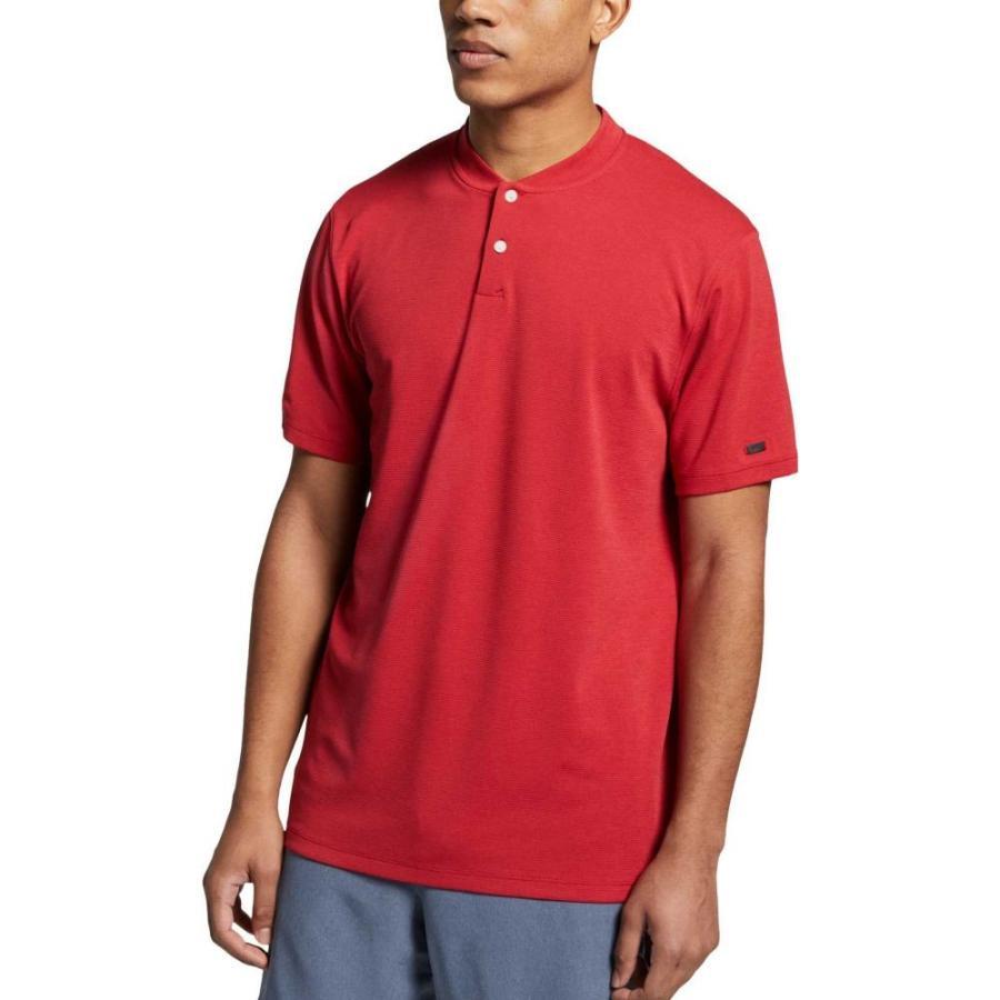 ナイキ Nike メンズ ゴルフ ポロシャツ トップス tiger woods aeroreact golf polo Gym 赤