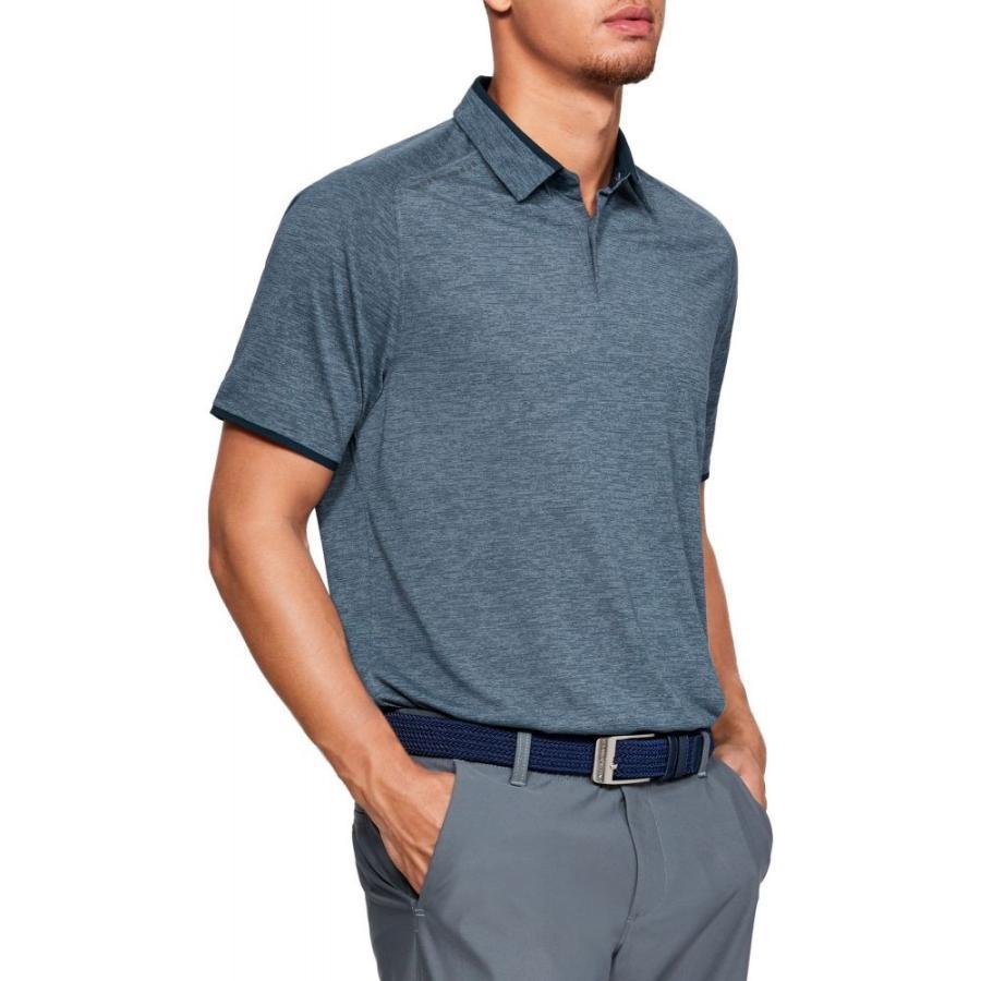 アンダーアーマー Under Armour メンズ ゴルフ ポロシャツ トップス vanish golf polo Academy