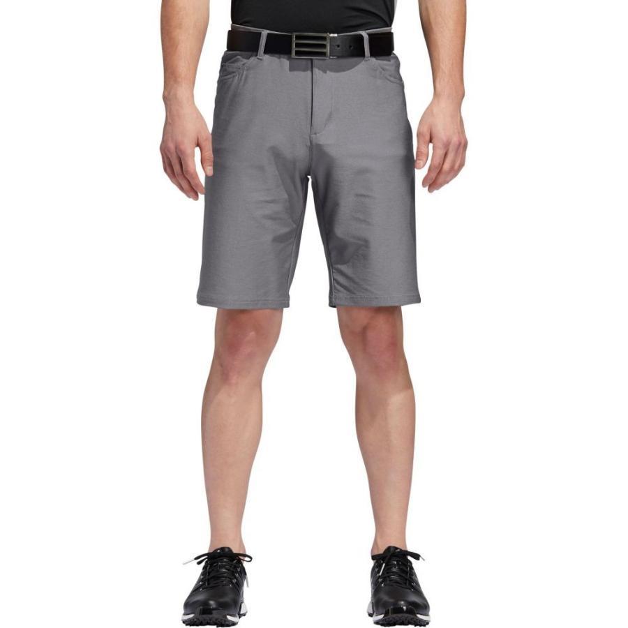 アディダス adidas メンズ ゴルフ ショートパンツ ボトムス・パンツ ultimate365 heather 5 pocket golf shorts Grey Three Heather