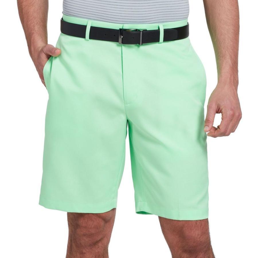 ウォルターヘーゲン Walter Hagen メンズ ゴルフ ショートパンツ ボトムス・パンツ essential oxford golf shorts Mint 緑