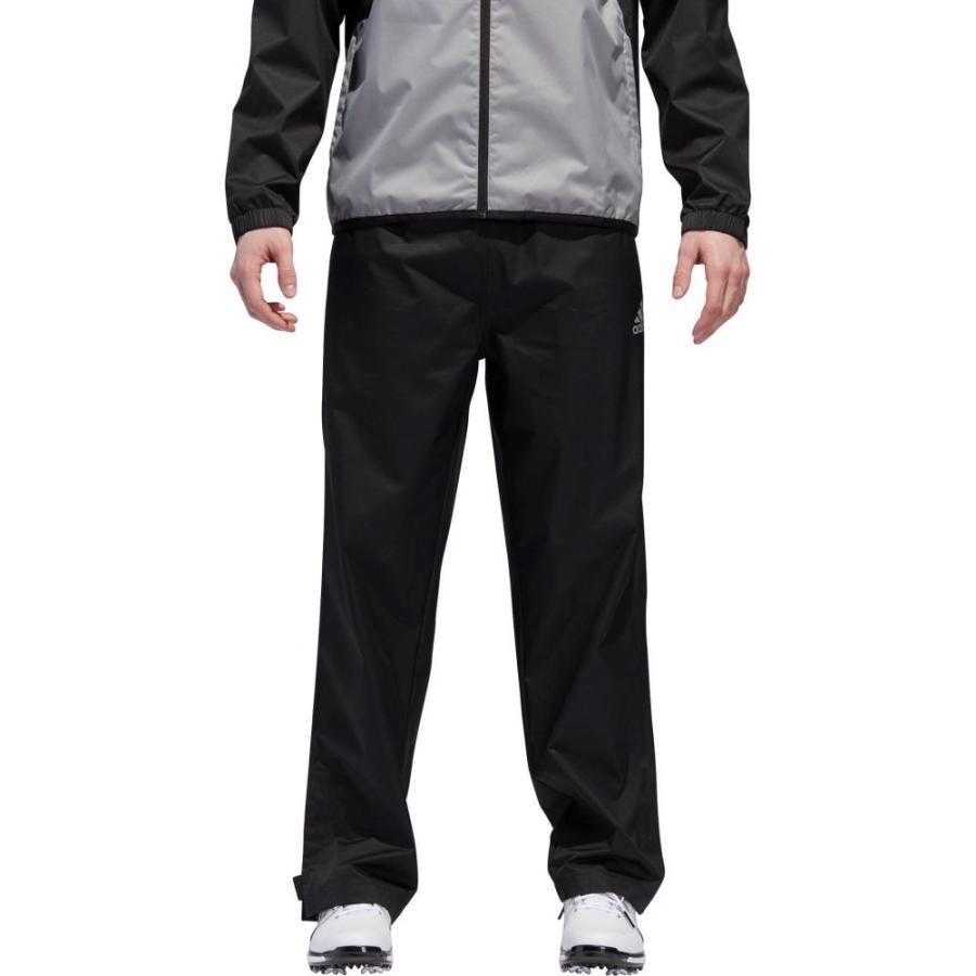 アディダス adidas メンズ ゴルフ ボトムス・パンツ provisional golf rain pants 黒