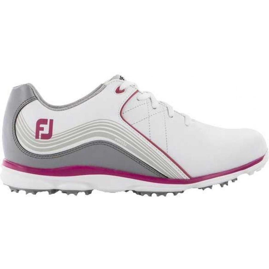 フットジョイ FootJoy レディース ゴルフ シューズ・靴 pro/sl golf shoes 白い/ピンク