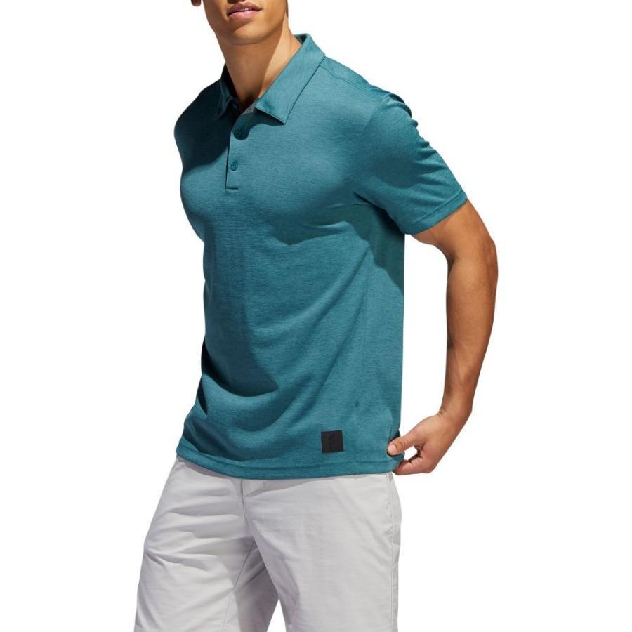 アディダス adidas メンズ トップス ゴルフ Adicross Transition Golf Polo Tech 緑 Mel