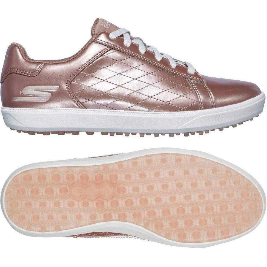 スケッチャーズ Skechers レディース ゴルフ シューズ・靴 go golf drive golf shoes Rose ゴールド
