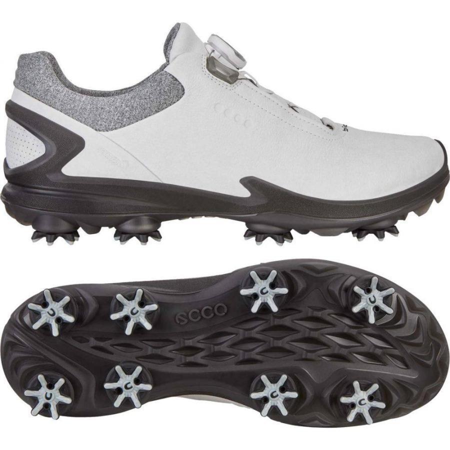 エコー ECCO メンズ ゴルフ シューズ・靴 biom g 3 boa golf shoes 白い