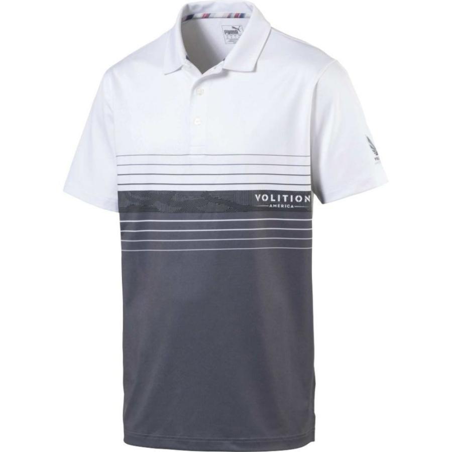 プーマ PUMA メンズ ゴルフ ポロシャツ トップス volition horizon golf polo Vintage Indigo