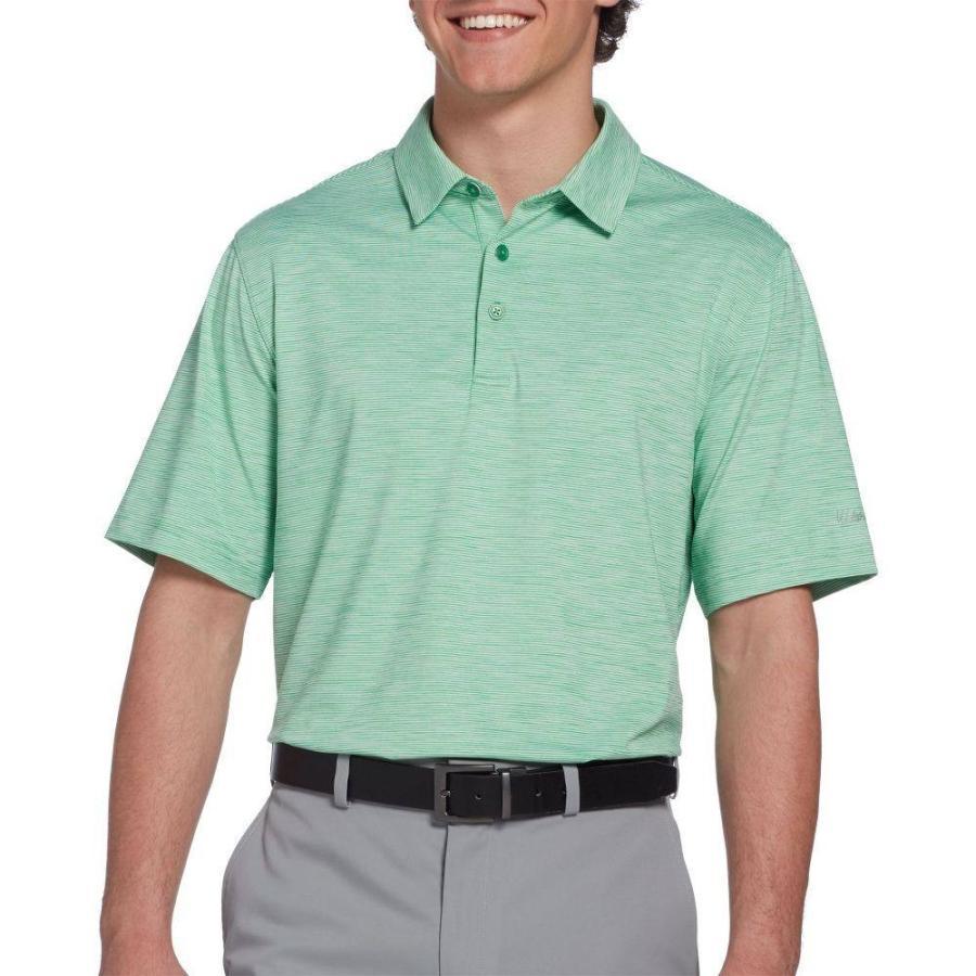 ウォルターヘーゲン Walter Hagen メンズ ゴルフ ポロシャツ トップス 11 majors championship stripe golf polo Park 緑