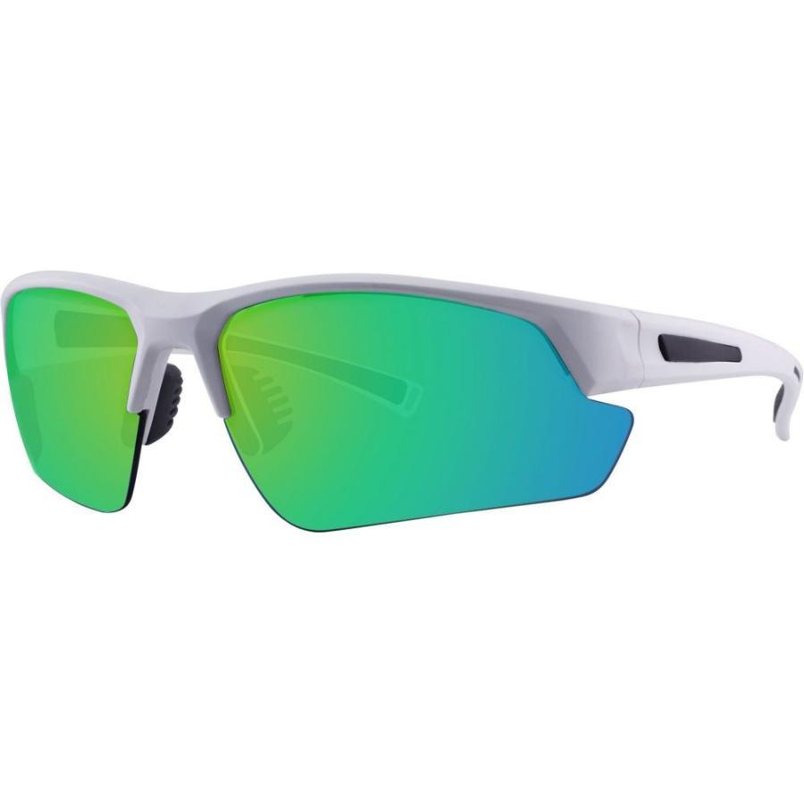 アウトルックアイウェア Outlook Eyewear Co. メンズ スポーツサングラス Surf N Sport Miramont Sunglasses 白い/黄 Mirror