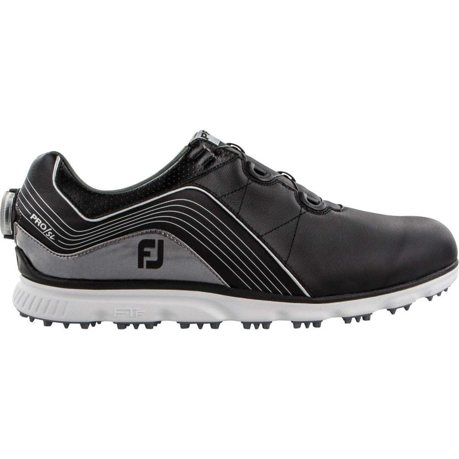 フットジョイ FootJoy メンズ ゴルフ シューズ・靴 2019 pro/sl boa golf shoes 黒/銀