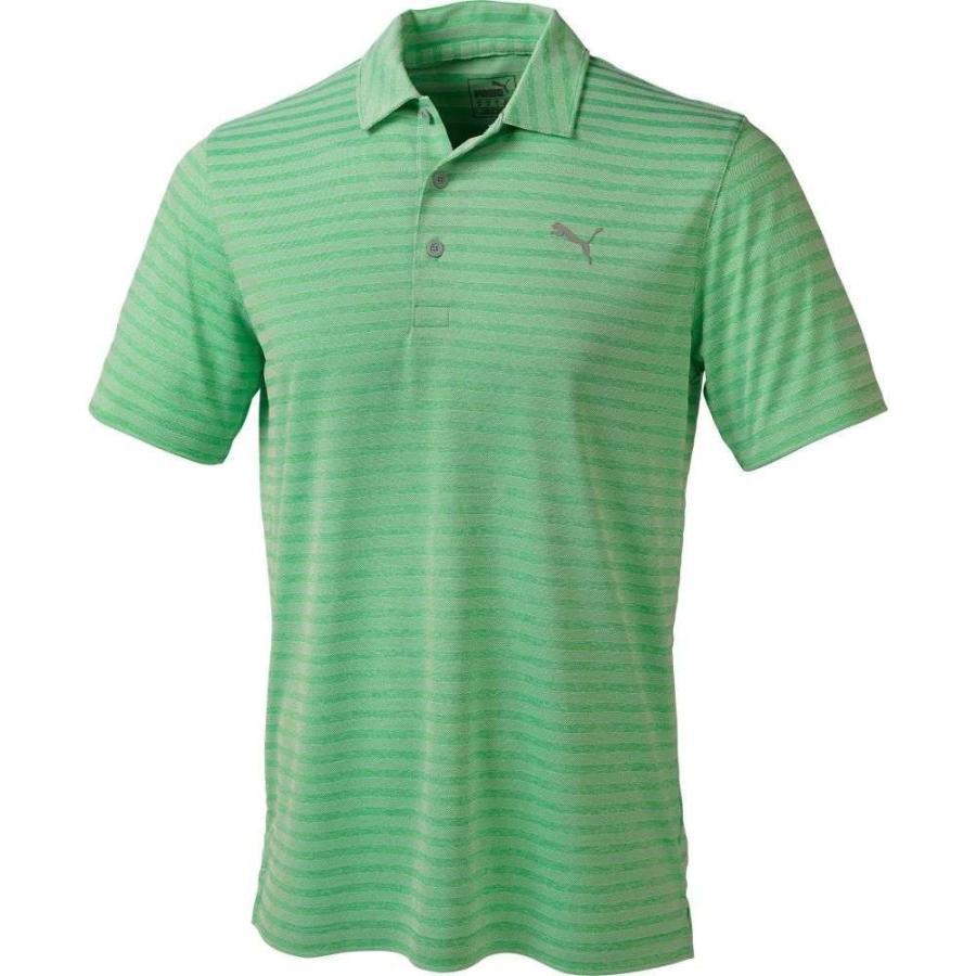 プーマ PUMA メンズ ゴルフ ポロシャツ トップス fairweather golf polo Irish 緑