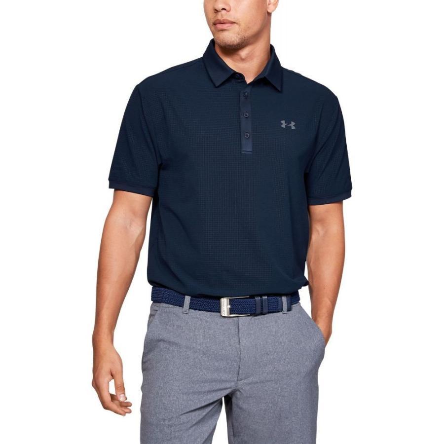 アンダーアーマー Under Armour メンズ ゴルフ ポロシャツ トップス playoff vented golf polo Academy